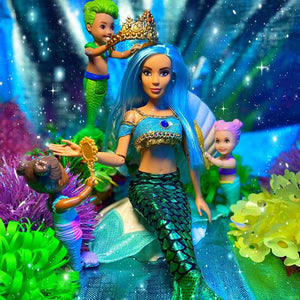 Mermaid Doll #MerMay #FreshPhotoChallenge Winner with The Fresh Dolls