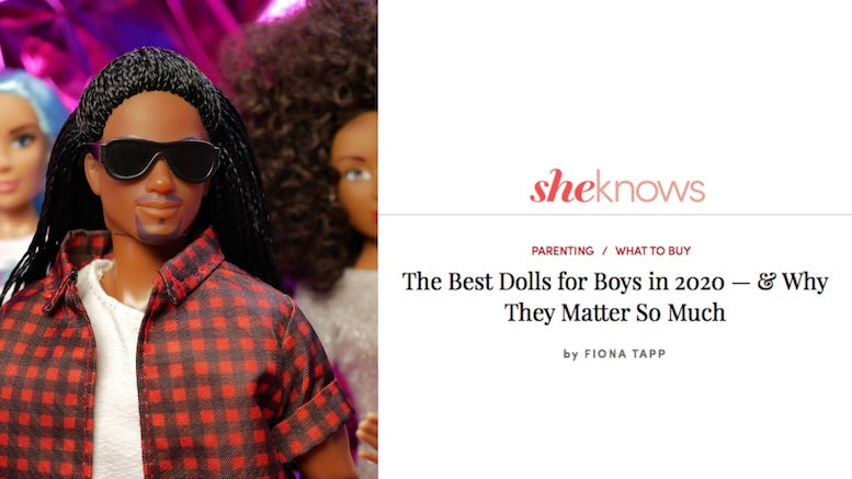 Malik Listed as One of the Best Boy Dolls in 2020 by Sheknows.com