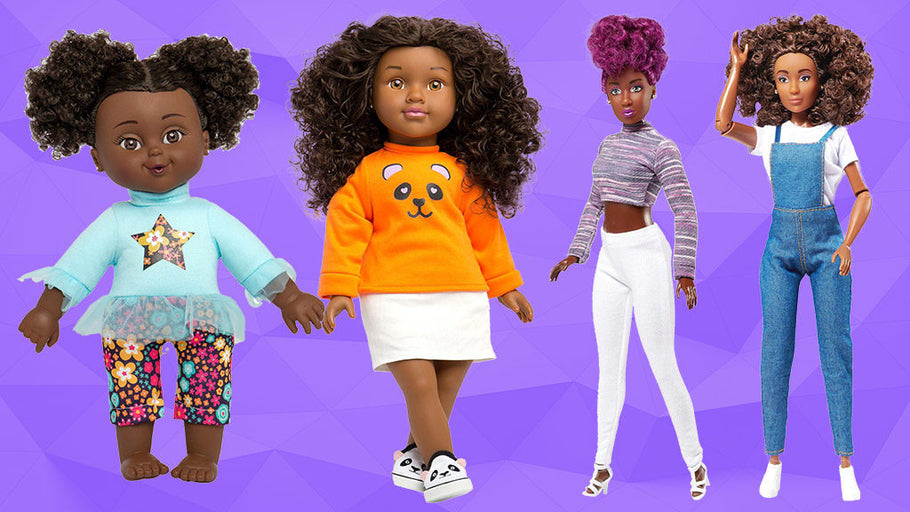 Toy Insider features the Fresh Dolls As Dolls That Represent Beauty for All Skin Tones