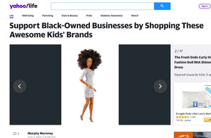 The Fresh Dolls Featured on Yahoo to Support Black-Owned Businesses by Shopping These Awesome Kids' Brands