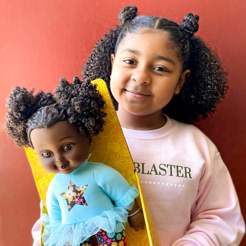 Black dolls with natural hair Black girl magic