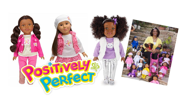 Black Enterprise features Dr. Lisa's Positively Perfect Dolls from Walmart