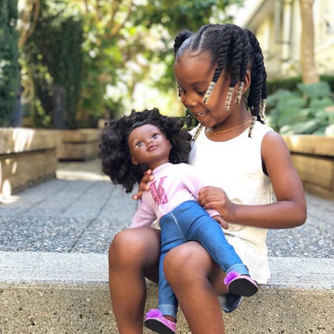 Meet Kennedy Positively Perfect baby doll with true representation