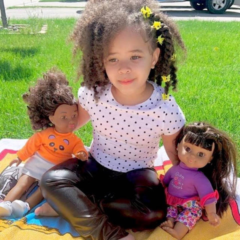 Mixed race dolls, Biracial dolls and Black dolls for Mixed baby girls