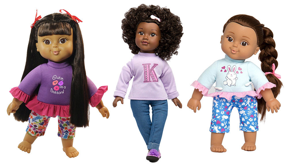 Toy Insider features Positively Perfect Baby Dolls Mixed Race Dolls Back dolls