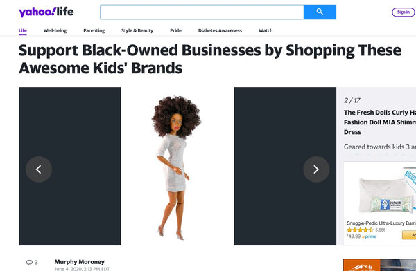 yahoo feature Support Black-Owned Businesses Shopping the fresh dolls