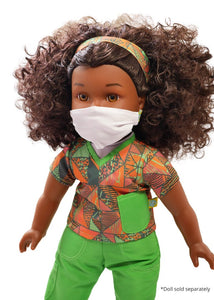 18 inch doll scrubs face mask fresh dolls positively perfect