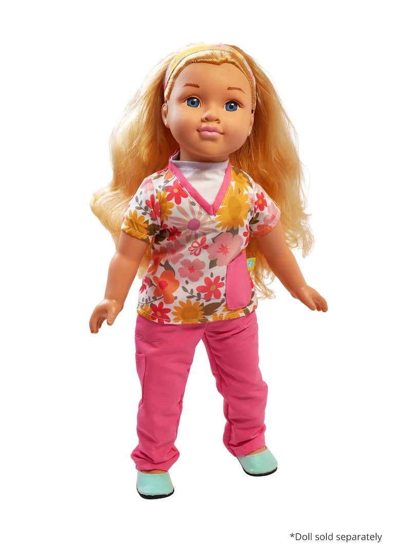 18 inch doll scrubs fresh dolls positively perfect