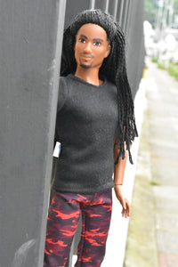 malik fresh squad doll fashion clothing clothes