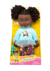 Curly Afro Puffs Baby Doll AALIYAH Positively Perfect™