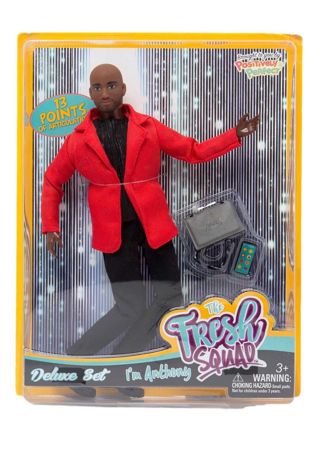 black male doll bald male fashion doll the fresh squad4