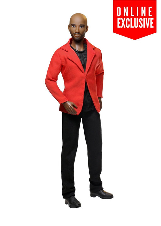 black male doll bald male fashion doll the fresh squad