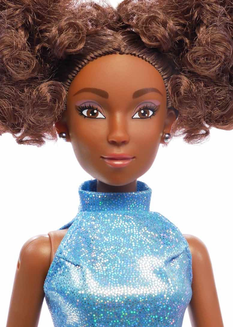 black afro latina doll ebony fresh dolls closeup2
