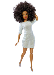 black dolls black fashion doll curly hair the fresh dolls