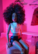 black dolls fashion doll african amercian natural hair dolls