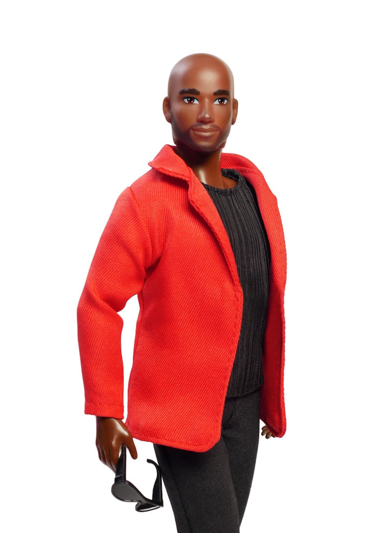 black male fashion doll bald head fresh dolls
