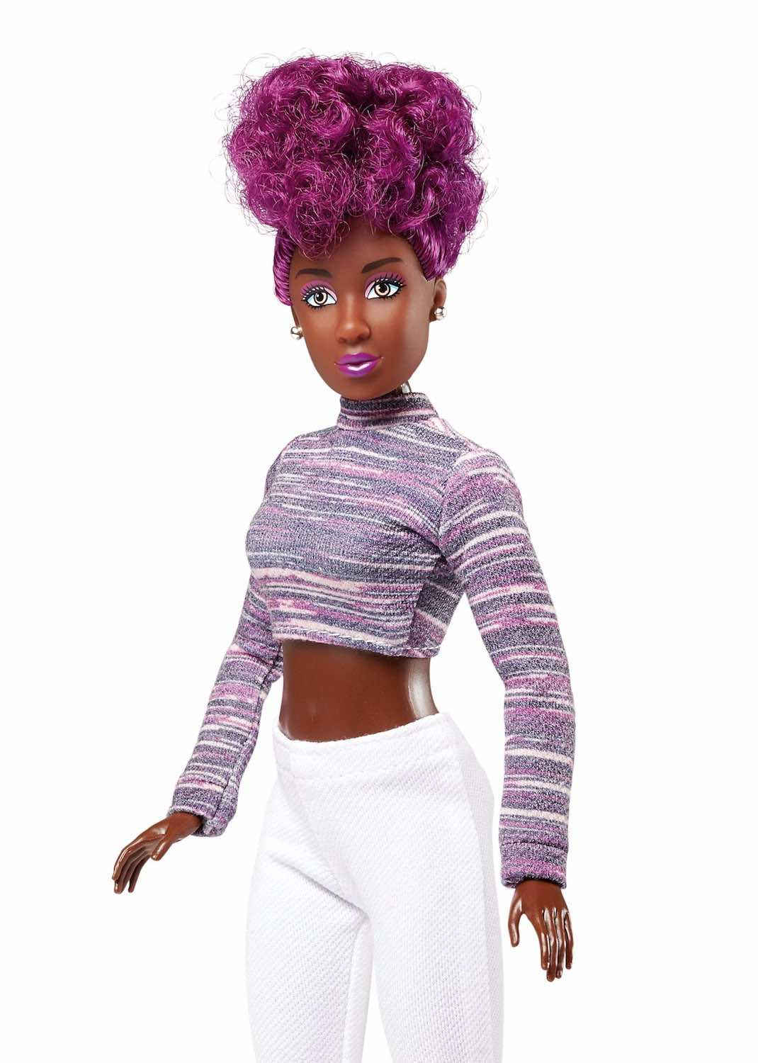 Purple Hair Doll LYNETTE Vivid Fashion Doll - The Fresh Dolls™