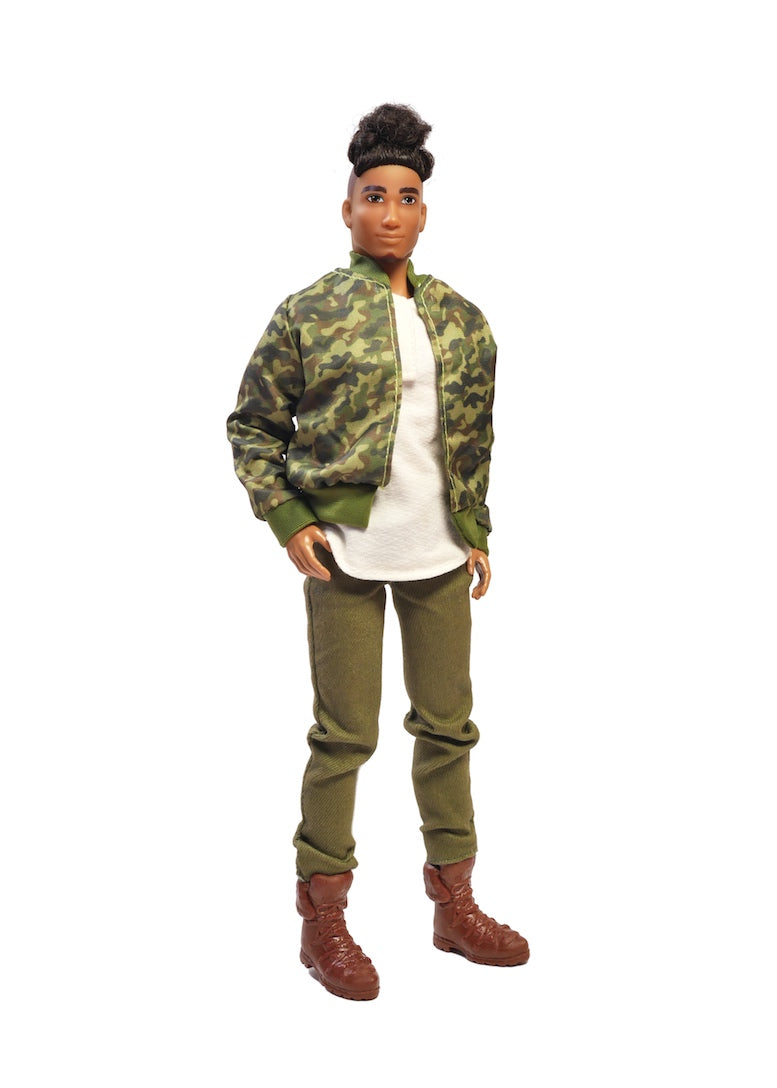 boy doll multicultural black male fashion doll fresh