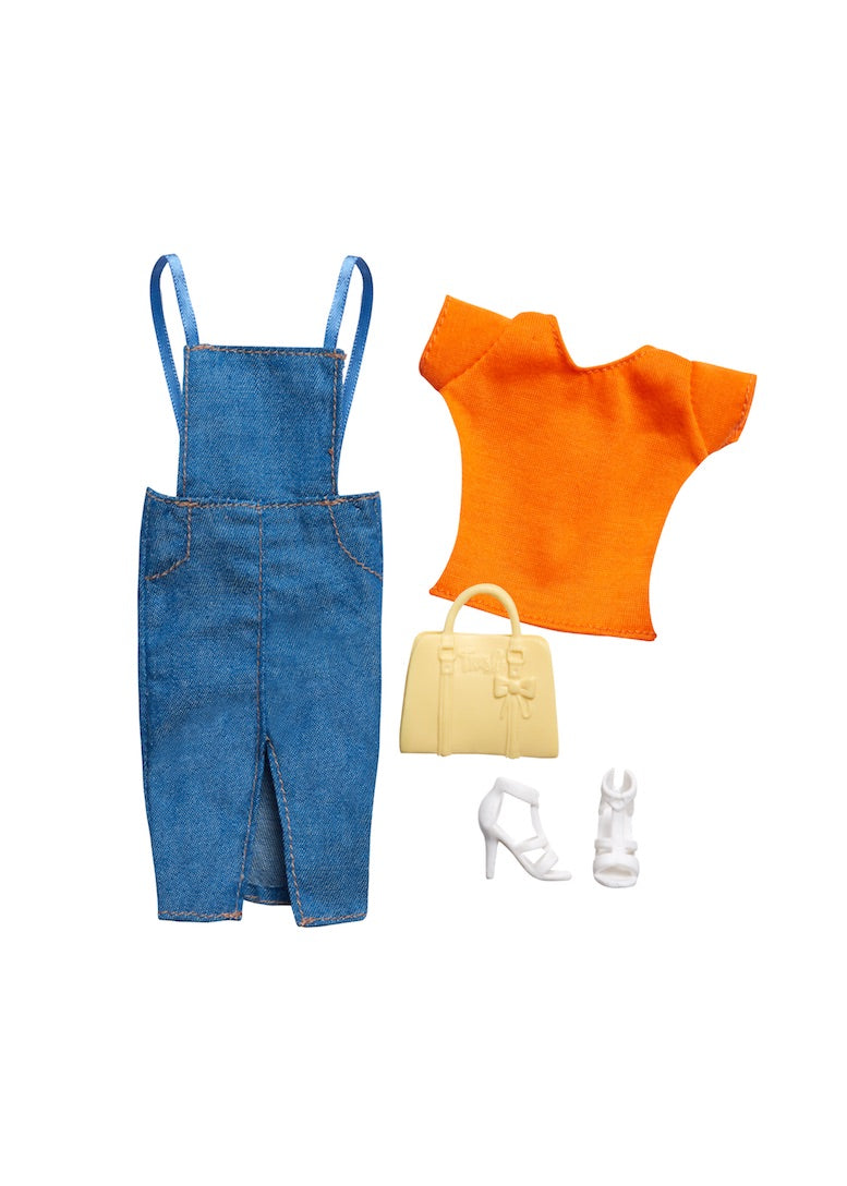 curvy fashion doll pack denim outfit fresh dolls
