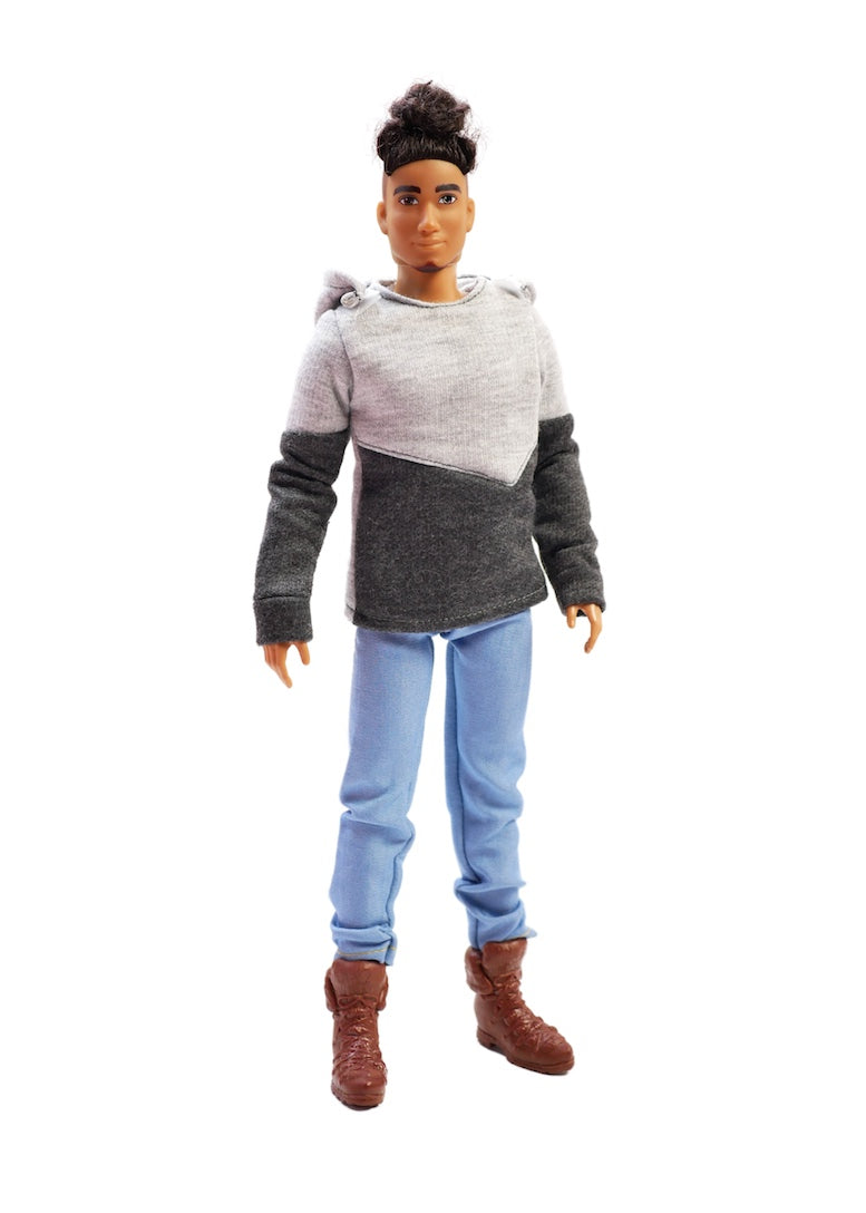 daniel fresh squad dolls hoodie jeans doll clothes