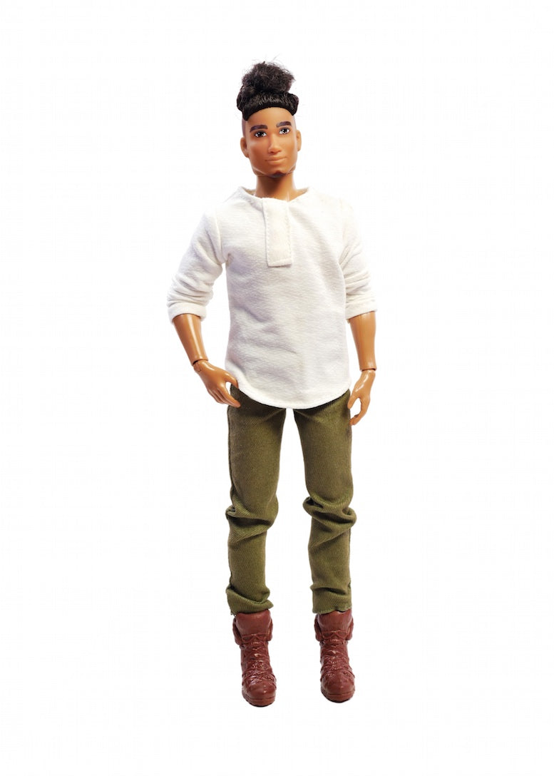 daniel fresh squad male fashion doll black dolls