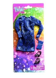 The Fresh Dolls Sleek Snake Print Dress Fashion Sets