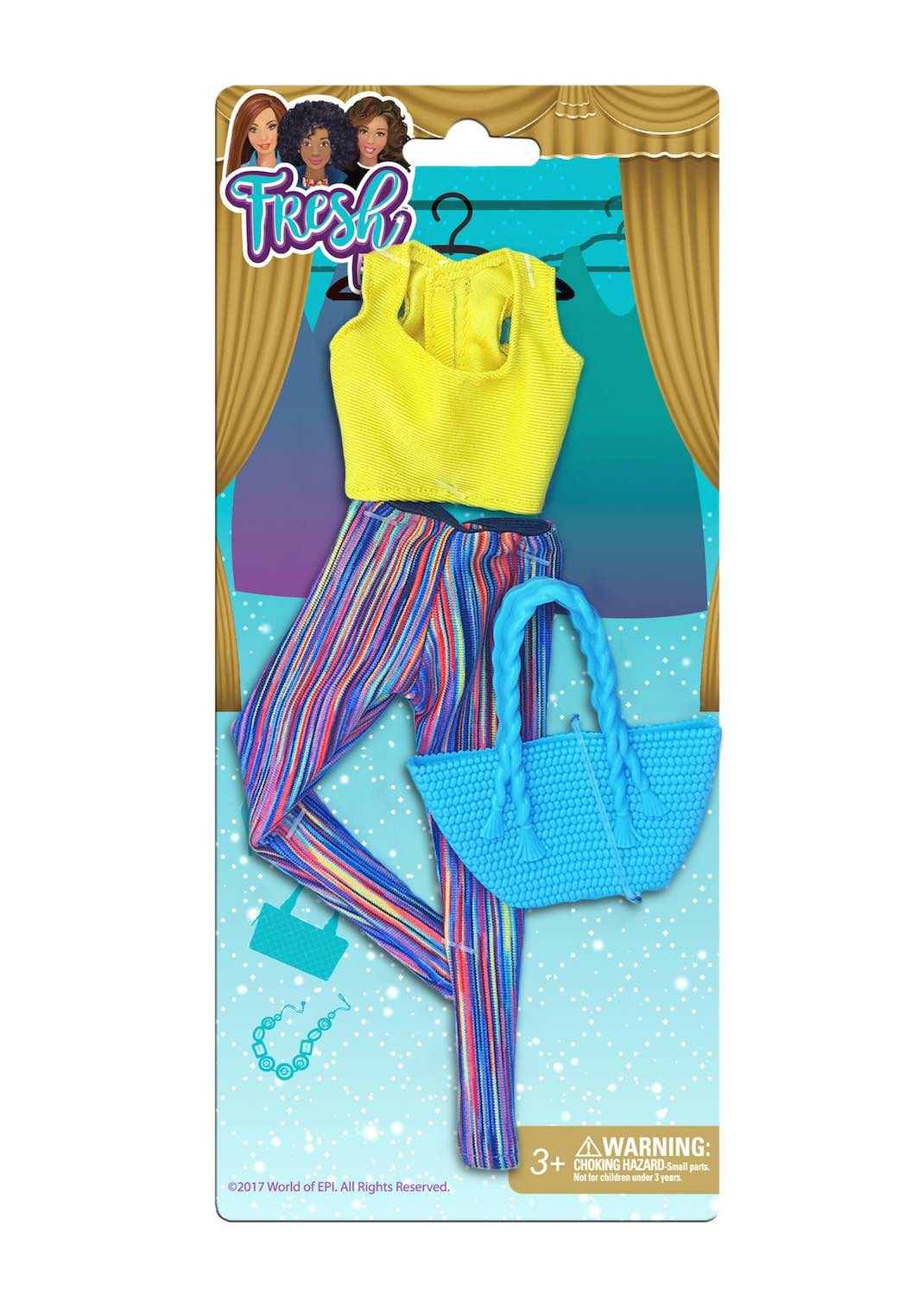 The Fresh Dolls™ ACTIVE-WEAR Fashion Pack
