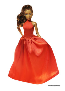 doll fashion gown red carpet dress the fresh dolls