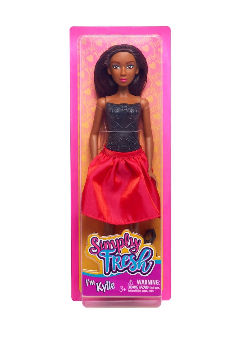 family dollar fashion doll Kylie simply fresh dolls
