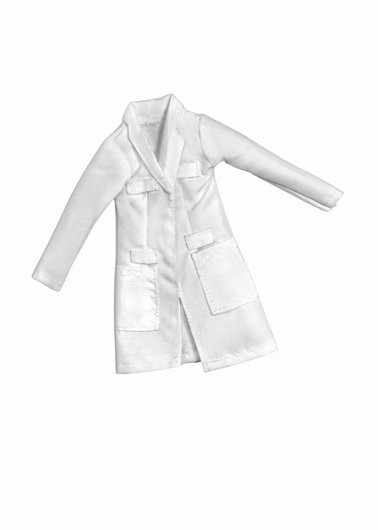 fashion doll doctor lab coat fresh dolls