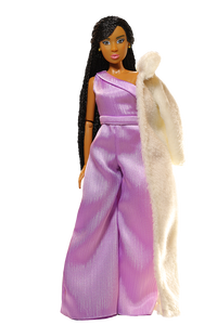 Fresh Fashion Pack - 'Snow' Faux Fur