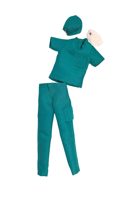 male fashion doll doctor scrubs nurse surgeon