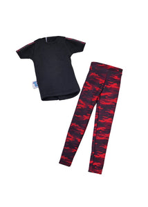 male fashion doll red camo set doll clothes fresh squad dolls