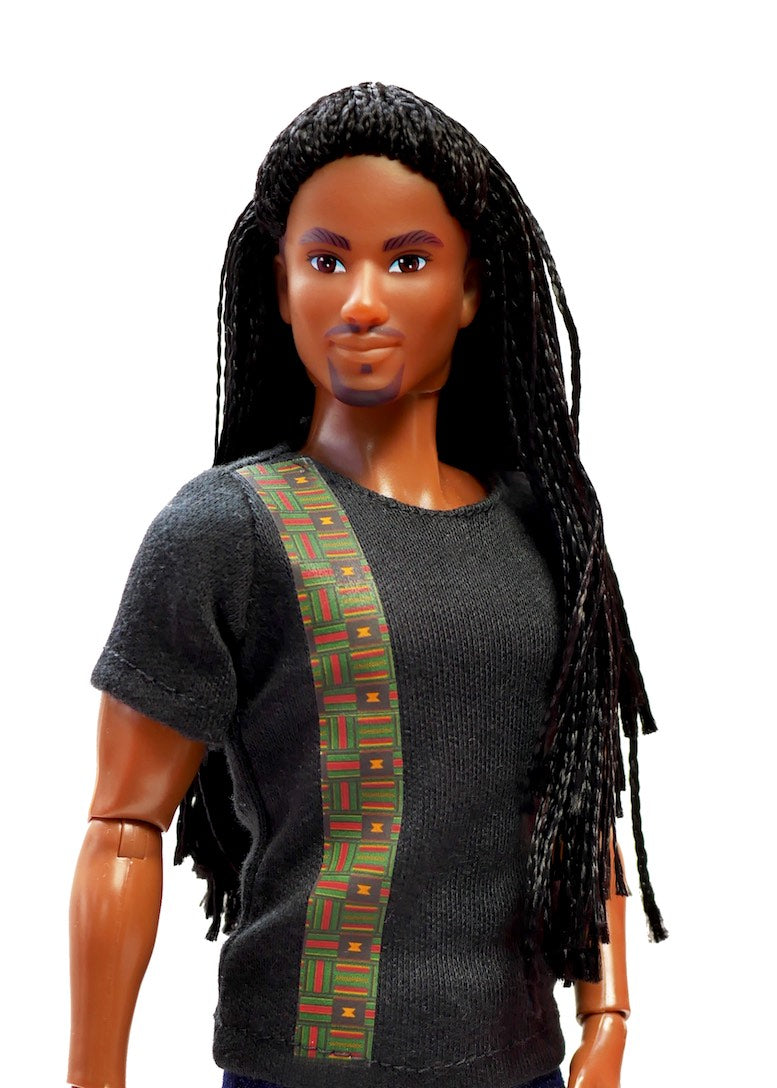 malik fresh squad doll african fashion pack