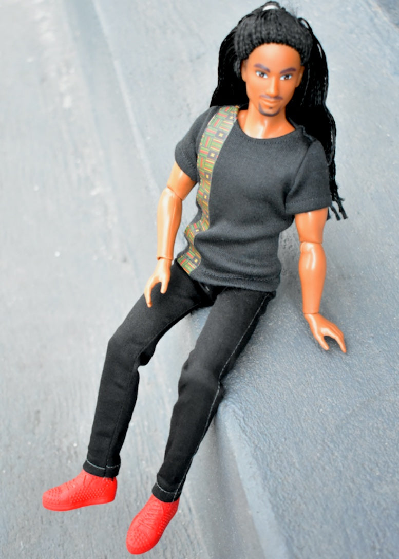 malik fresh squad dolls male doll clothing