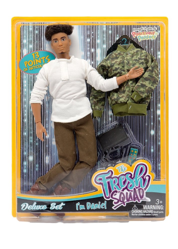 Latino mixed race male fashion doll fresh squad