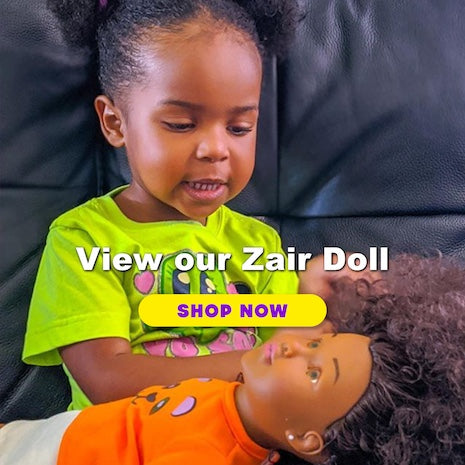 La Guardia Cross little sweetie, Nayely with Zair Baby Doll