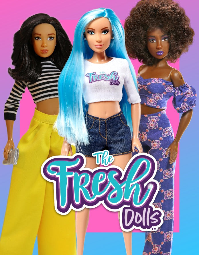 The Fresh Dolls Outfit With Accessories