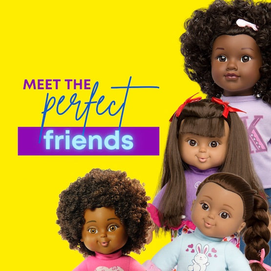 Shop our Positively Perfect baby dolls for all Little girls 18 months and older!
