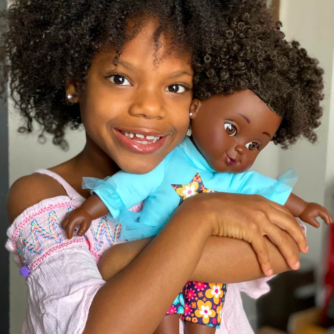 Shop Black baby doll Aaliyah from Positively Perfect