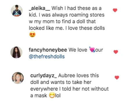 See what people are saying about our Positively Perfect Black Baby Dolls