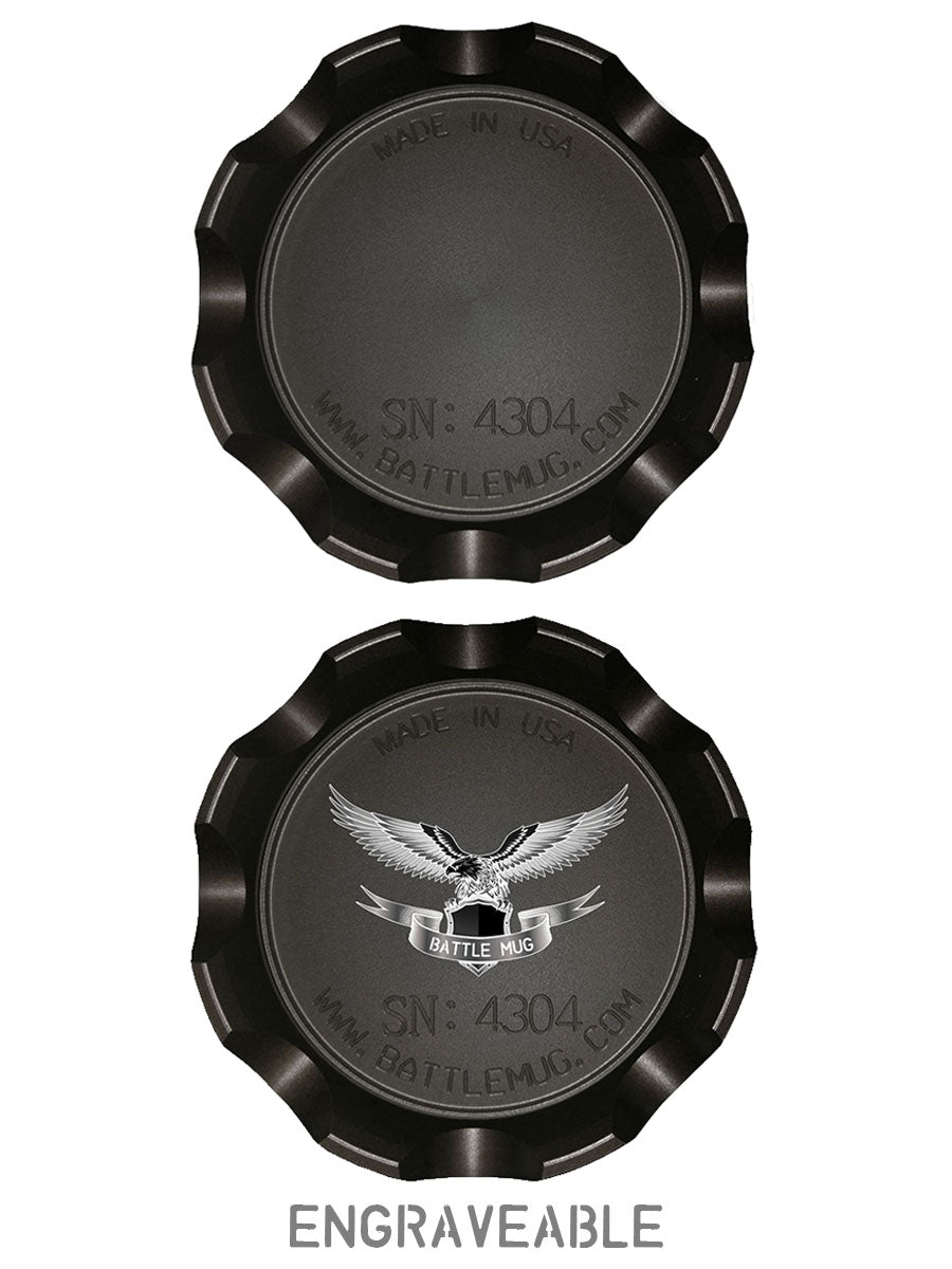 Combat Cup Engraved Insignia