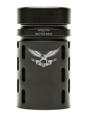 BattleComp Highball Glass Engraved Insignia and Text