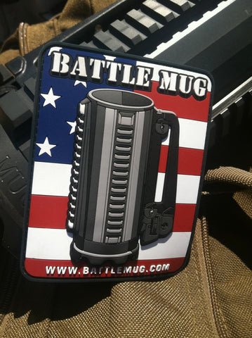 Battle Mug 3D PVC Patch