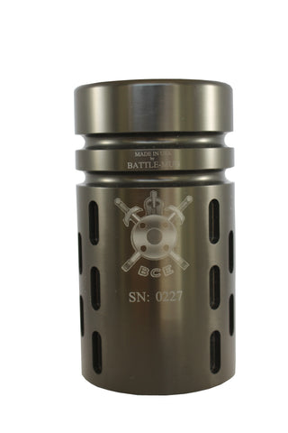 BattleComp Highball Glass Engraved Insignia