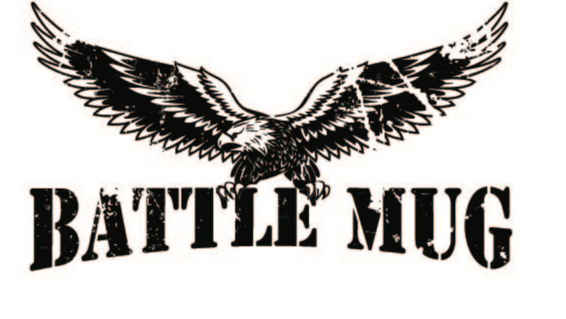 Battle Mug Eagle Sticker