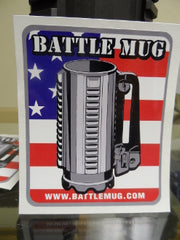 Battle Mug Sticker