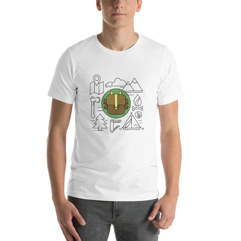 Camping Vector T-Shirt - Outdoor gear