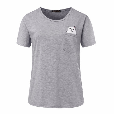 Innocent and Naughty Cat T-Shirt