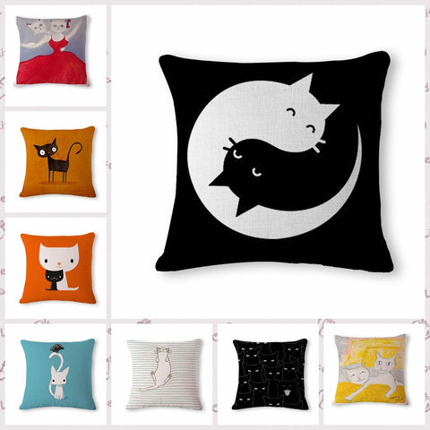 Happy Cats Pillow Case Collection